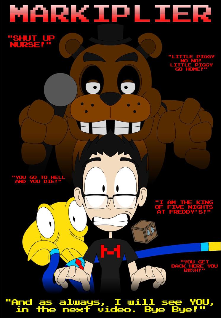 Markiplier fan art by GamersIntel