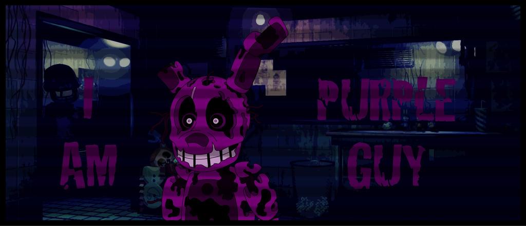 I am... PURPLE GUY! by GamersIntel