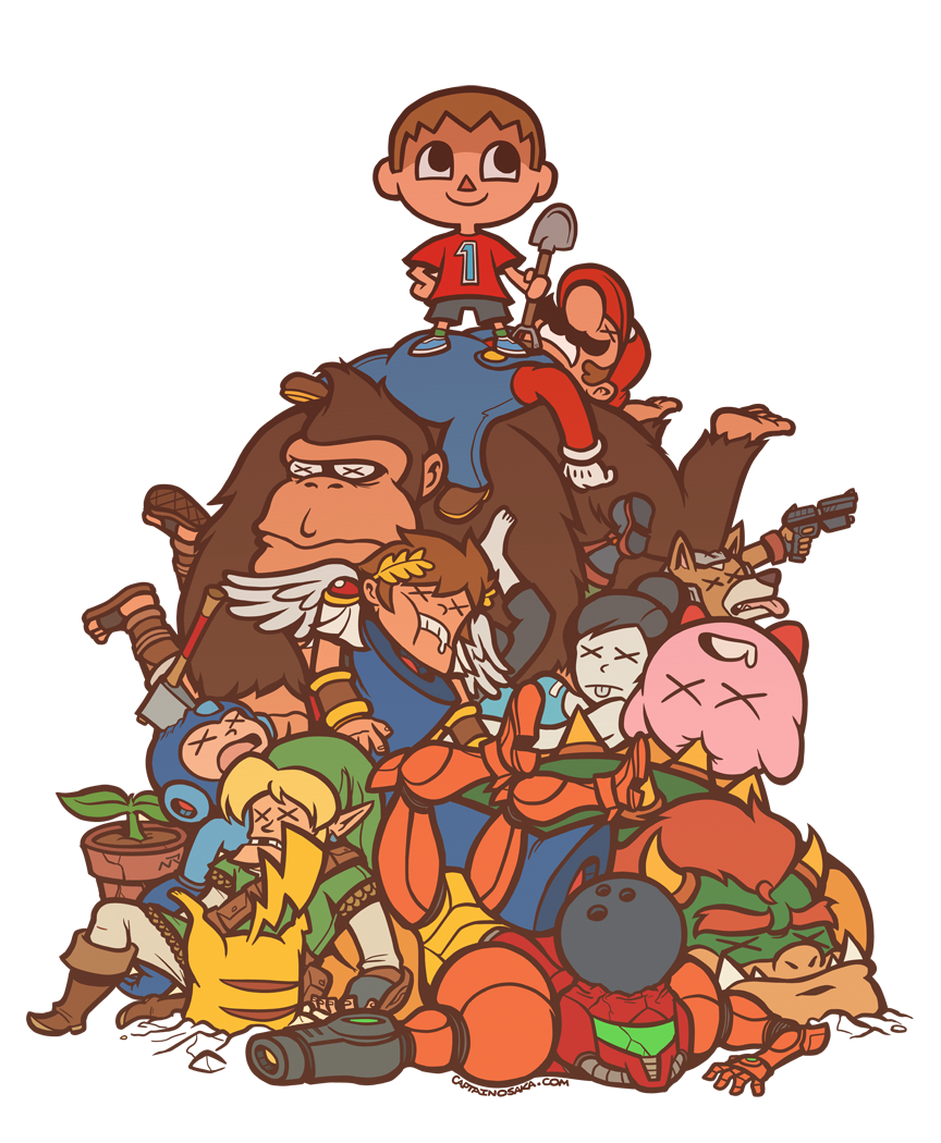all them dead smash bros by captainosaka
