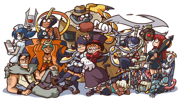 all them skullgirls