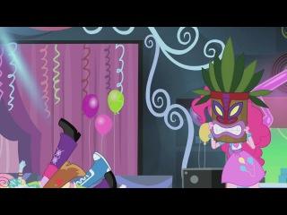 Pinkie's new face by FluttershyBrony13