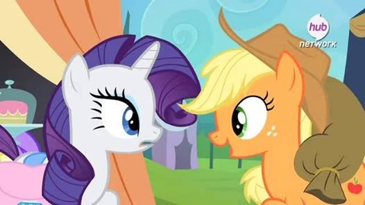 Trade ya Rarity for the apple by FluttershyBrony13