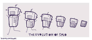 The Evolution Of Spud by ScienceIsHardcore