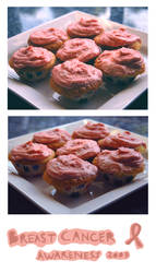 Pink Cupcakes: BCA by ScienceIsHardcore