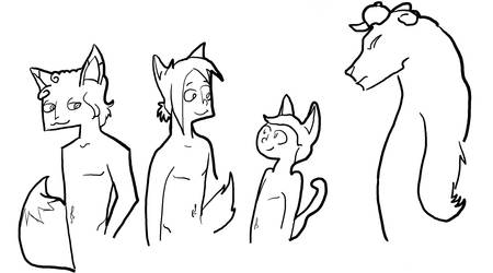 Animal derps by Angel-with-a-Flower