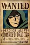 Monkey D. Dragon Bounty