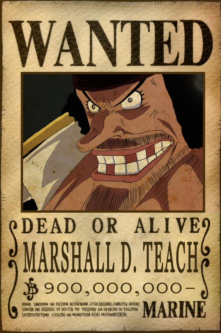blackbeard one piece bounty -#main