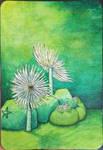 Green sabella