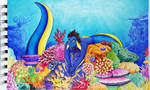 Colourful sea by emodroide-douloureux