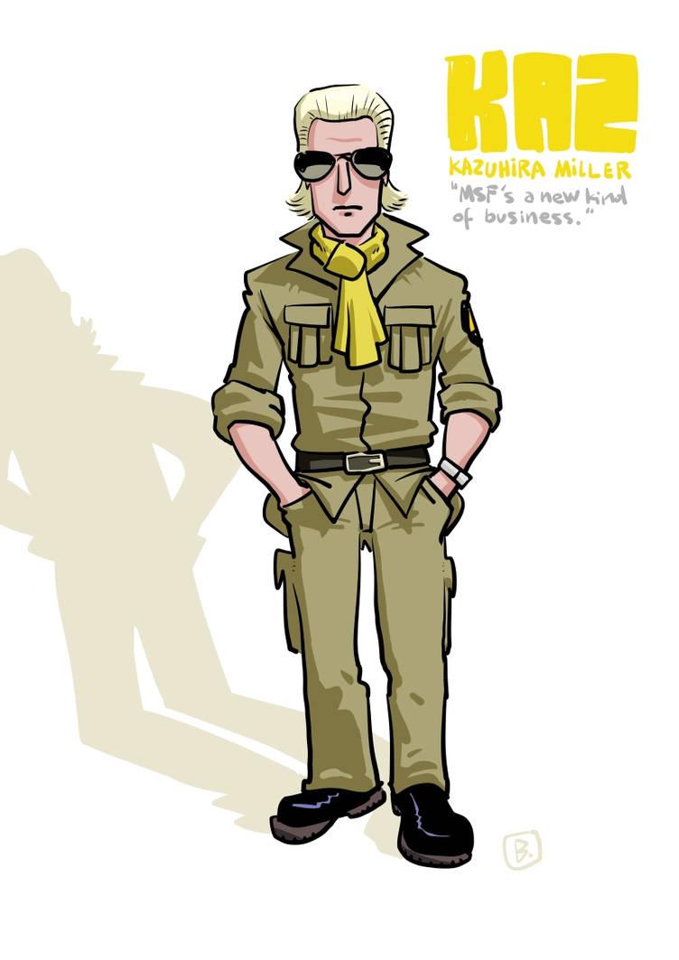Benedict Kazuhira Miller By Bobsolo On Deviantart We hold our rifles in missing hands. deviantart