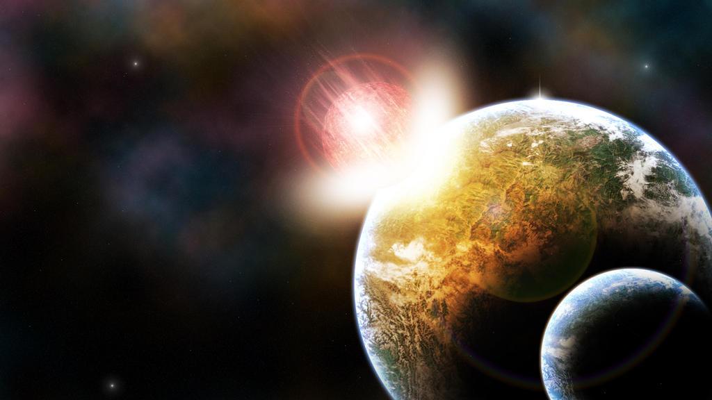 all planets crashing - photo #7