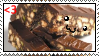 Hedgehog Slice Stamp by HilarityRules
