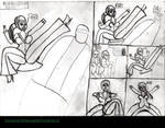 Boxing Clever Page 9 Original Page by JamieCloughComics