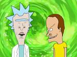 Dick-head Sanchez and Mortimer Beavis
