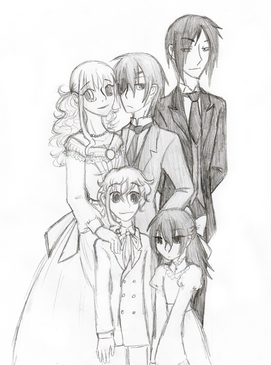Kuroshitsuji- Family portrait by o0whitelily0o on DeviantArt
