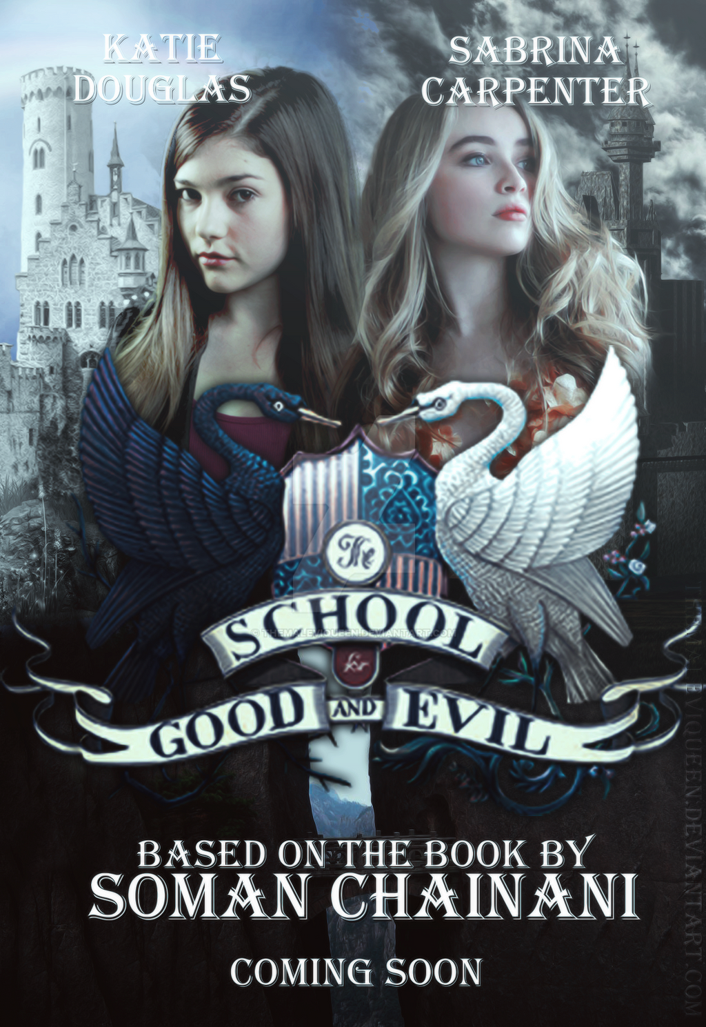 The School For Good And Evil Movie Poster By