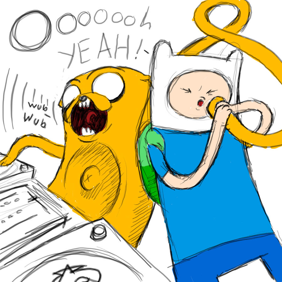 how to draw finn and jake step by step