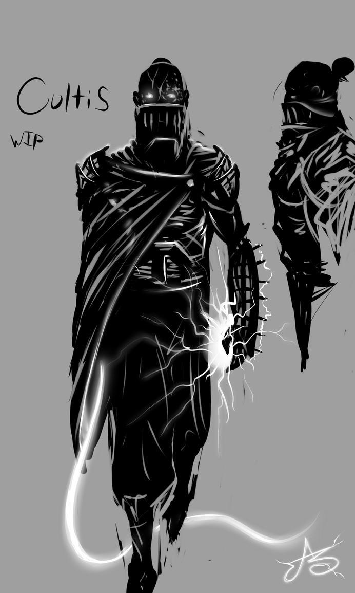 Darth Cultis WIP by SHARK-E