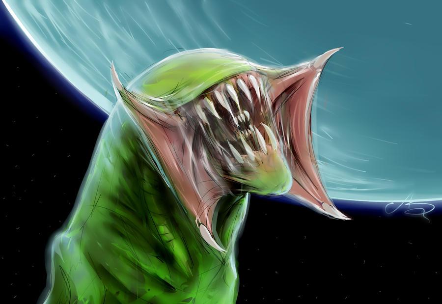 Alien Chestburster Mortal Kombat Golfclub
