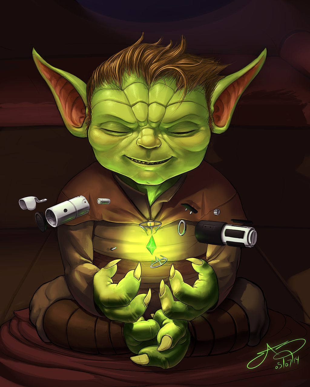 Yoda's Youth by SHARK-E