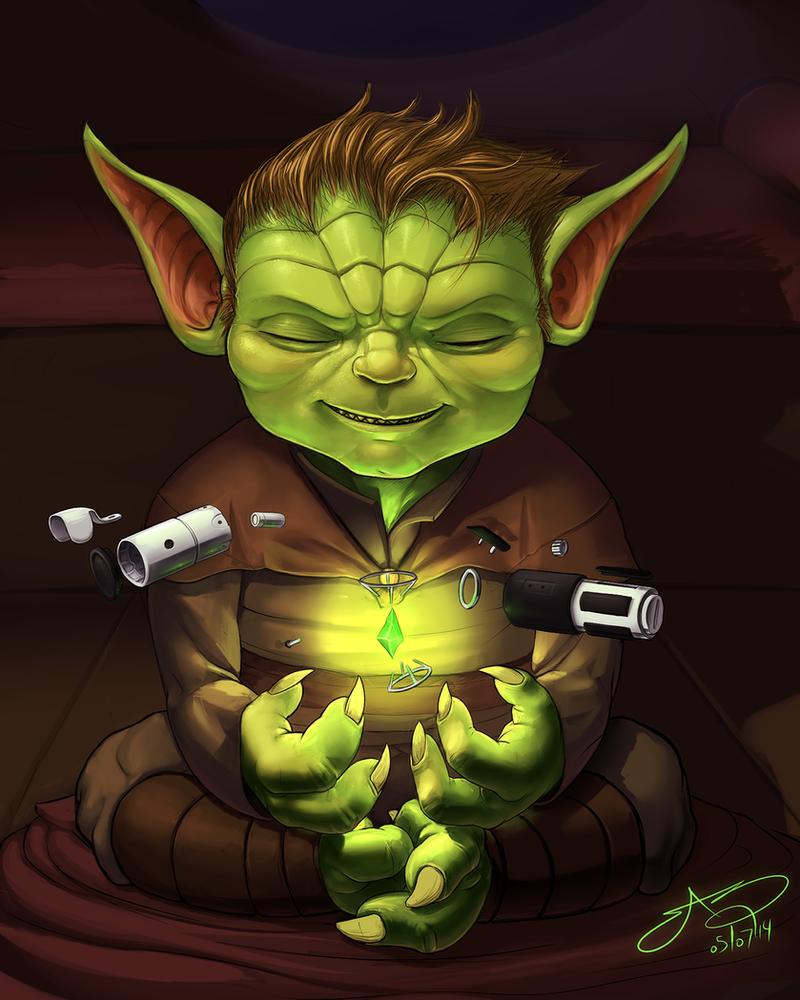 Yoda's Youth by SHARK-E