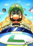 Luigi doesn't mess around