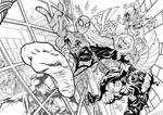 Spider-Man - The Chase by Half-Man-Half-Pencil