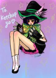 Gaia : ketchup yo's avatar by Fran-foxxx