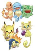 Pokemon Batch by Fran-foxxx