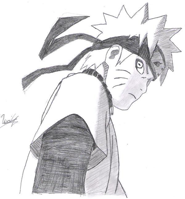 Dibujos faciles de Naruto a lapiz - Imagui