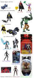 batman toy list