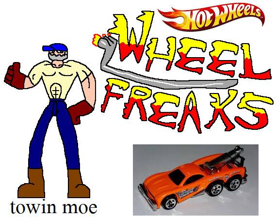 wheel freaks character towin moe by NickMaster64