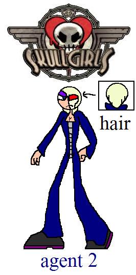 skullgirls oc agent 2 by NickMaster64
