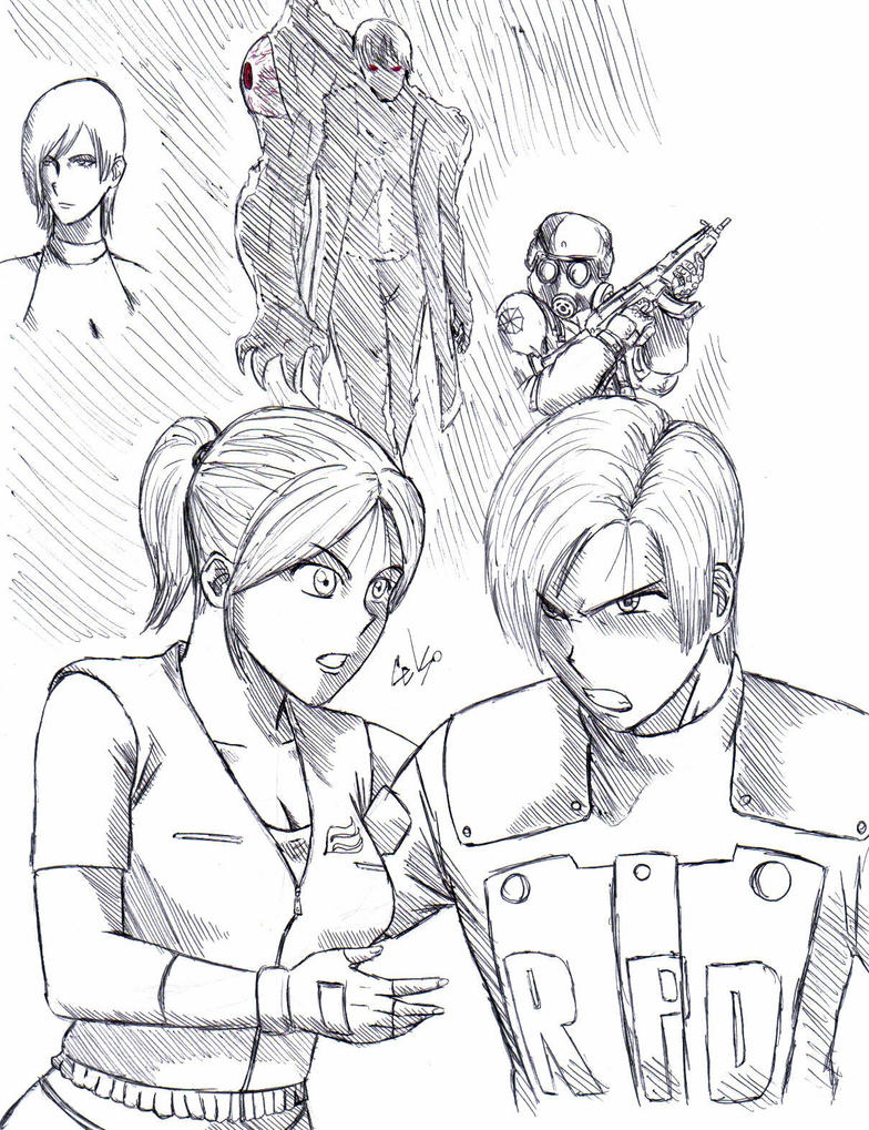 Resident Evil 2 by celsohenrique