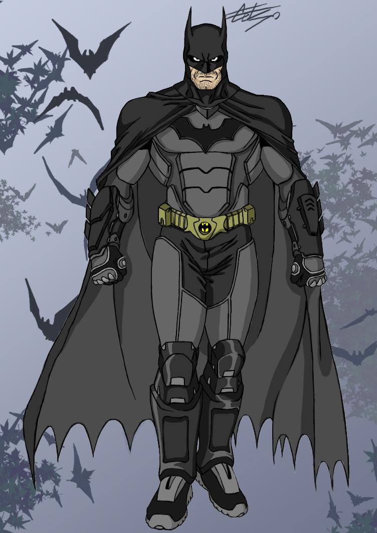 Batman - Bruce Wayne by celsohenrique
