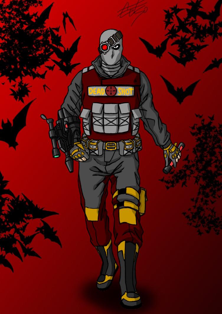 Deadshot Redesign Deadshot - Floyd Lawto...