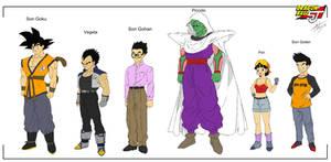 Dragon Ball Shin Jidai - Characters 1