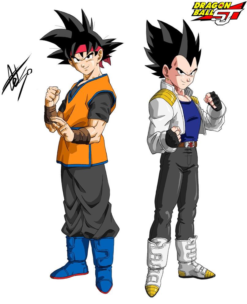 Goku jr the image kid has it - Son goku vegeta ...