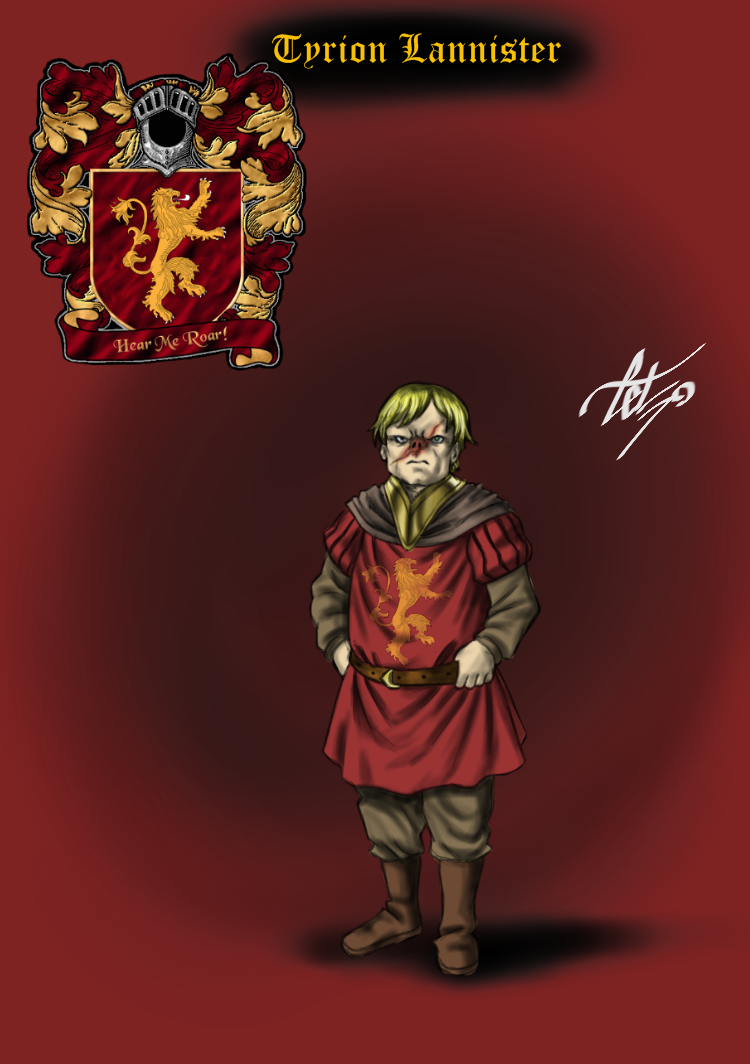 Tyrion Lannister - O Duende by celsohenrique