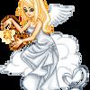 Angel on Clouds by oOlKatlOo