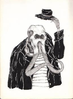 Skeletal Figures #5