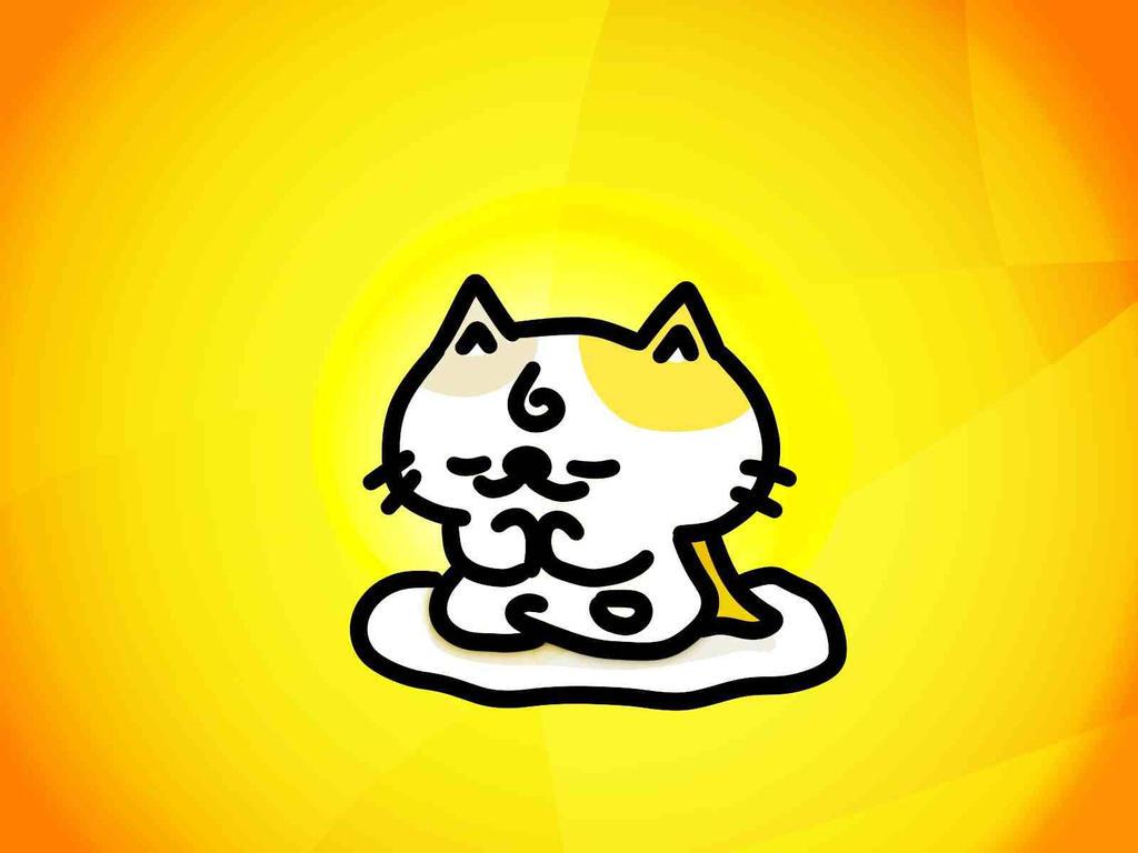 cat budda by kusaman