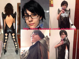 Bayonetta 2 cosplay - Preview 3.0 with fake hair!