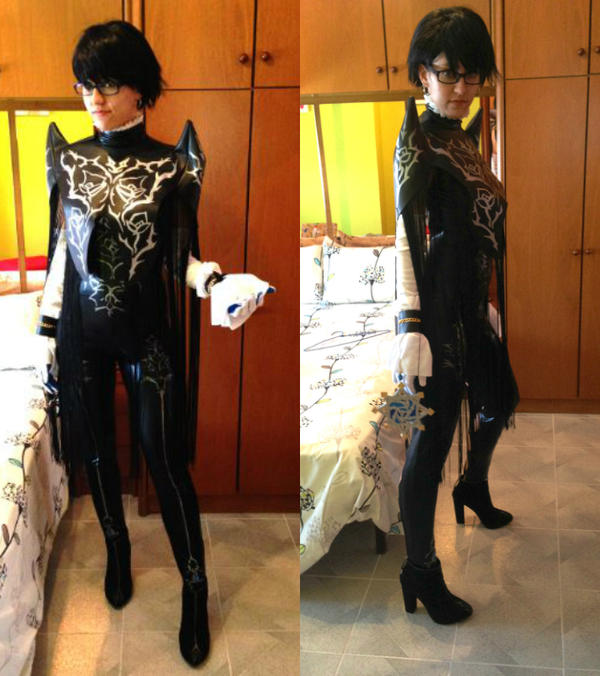 Bayonetta 2 cosplay - First star pendant sewed by JudyHelsing