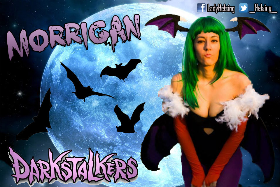 Ah honey. Is that all you got? - Morrigan Aensland by JudyHelsing