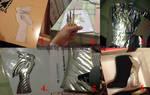 Bayonetta 2 cosplay - Boots WIP, THE TUTORIAL
