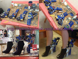 Bayonetta 2 cosplay - guns and heels FINISHED by JudyHelsing