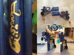 Bayonetta 2 - Guns love is blue with charms