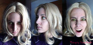Alucard cosplay - Make up test