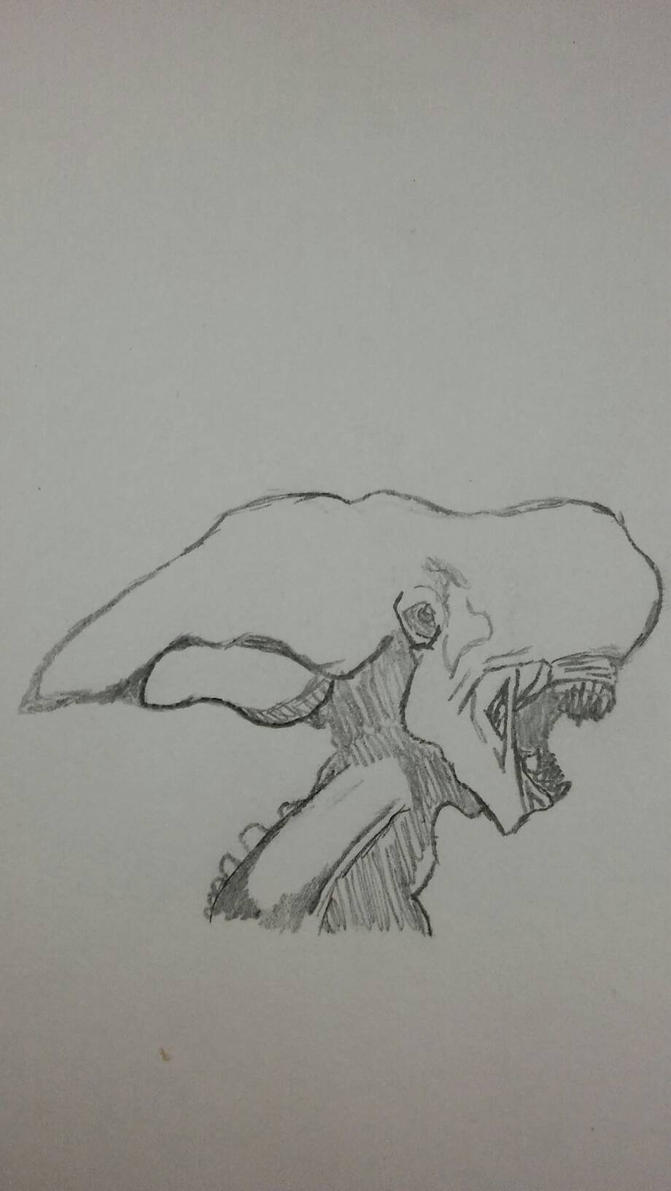 Belugamorph sketch by Art-dragon1123